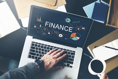 Finance Money Debt Credit Balance Concept Stock Photo