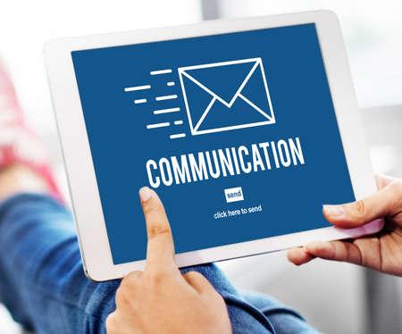 correspondence: Comunicación Conexión Correspondencia Concepto de correo electrónico
