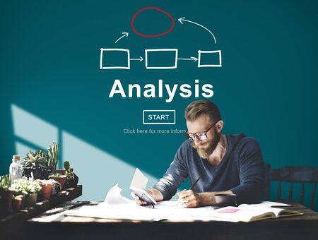 reseach: Analysis Analyze Examination Data Information Concept