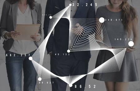 visual information: Graph Visual Information Statistics Analysis Concept