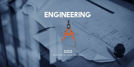 property development: Engineering Occupation Professional Expertise Creative Concept Stock Photo