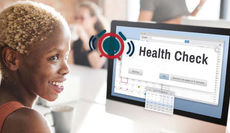 workplace wellness: Healthy Health Check Lifestyle Nutrition Physical Concept