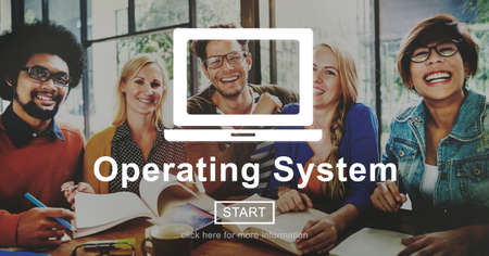 operative: Operating System Operate Opration Working Concept Stock Photo