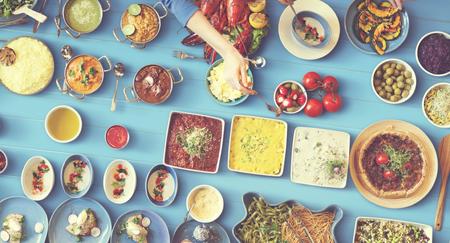 amabilidad: Concepto Unidad alimentos festivo partido restaurante