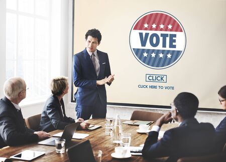 poll: Vote Voter Voting Campaign Choice Election Poll Concept
