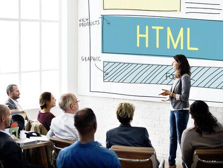 html: Design HTML Web Design Template Concept