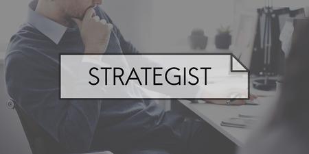 strategic focus: Strategist Planning Process Solution Mission Concept