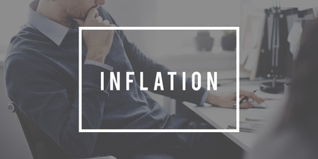 banking concept: Inflation Recession Stock Market Banking Concept