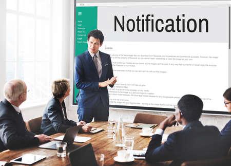 notification: Notification Alert Icon Inbox Internet Message Concept