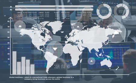 globalization: Global Globalization Networking International Concept