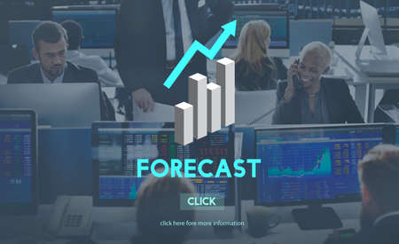 to foresee: Forecast Future Planning Predict Stratgey Trends Concept