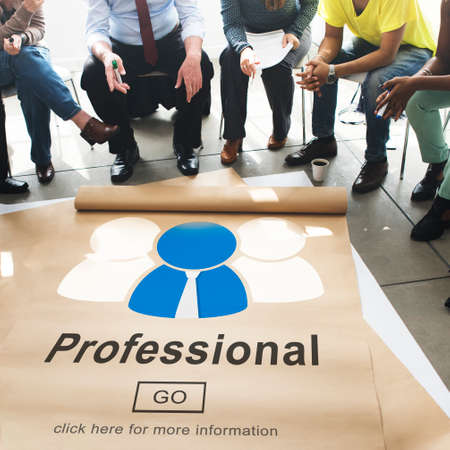 proficiency: Professional Ability Skilled Expertise Proficiency Concept Stock Photo