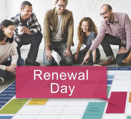 renewal: Renewal Day Ecology Environmental Source Energy Concept