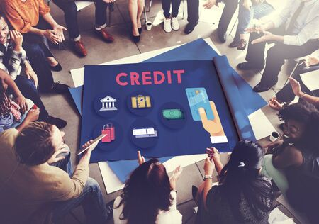 cash flow: Credit Score Cash Flow Finance Concept