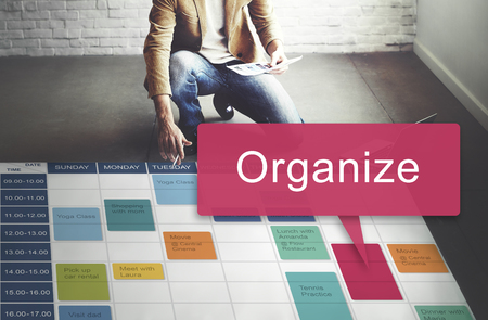 organize: Organize Design Resource System Manual Concept