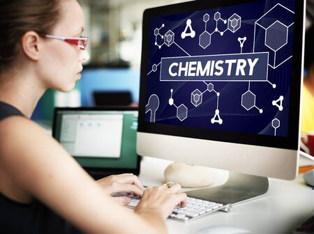 computer scientist: Chemistry Science Research Subject Education Concept