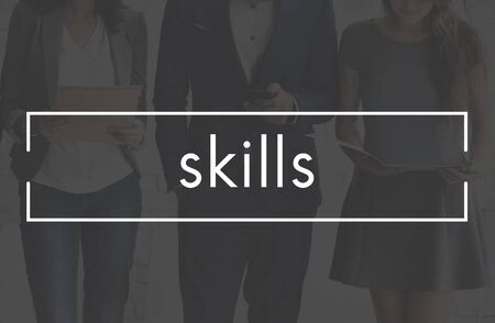 expertise: Skills Ability Expertise Performance Talent Professional Concept Stock Photo