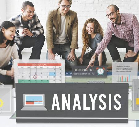information analysis: Analysis Data Communication Information Insight Concept Stock Photo