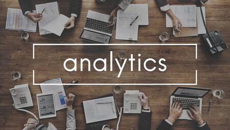 information analysis: Analytics Analysis Statistics Information Concept Stock Photo