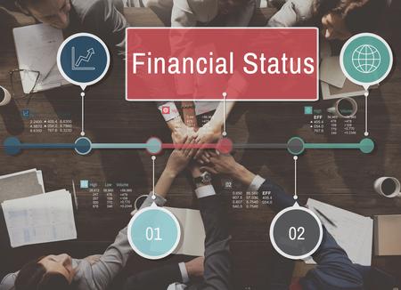 companionship: Financial Status Report Diagram Concept