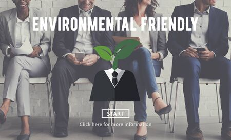 the applicant: Environmental Friendly Business Suit Concept Stock Photo