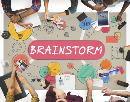 Brainstorm Thinking Analysis Ideas Concept