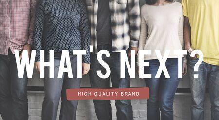 trend: Whats Next Creativity Modern Prediction Trend Concept