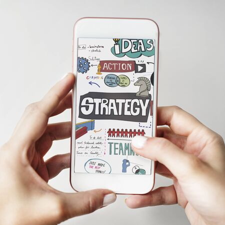 mobile solutions: Strategy Solution Development Mission Motivation Concept