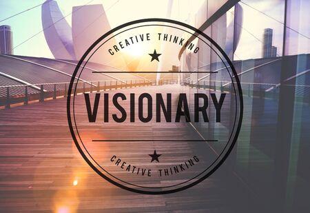 Concepto creativo visionario Visión Visional Idea Pensando