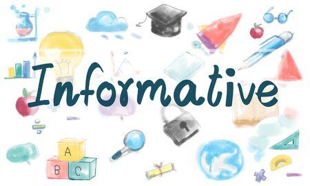 inteligent: Informative Information Knowledge Study Ideas Concept