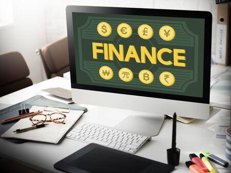 tech no: Finance Foreign Exchange Money Symbol Concept