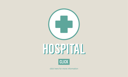 infirmary: Hospital Clinic Health Institution Medicine Care Concept Stock Photo