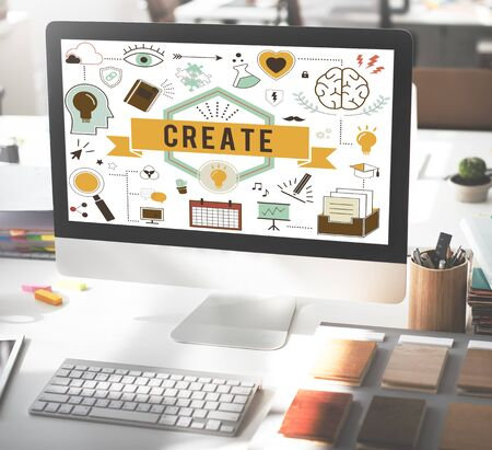 aspiration: Create Ideas Aspiration Solution Inspiration Concept