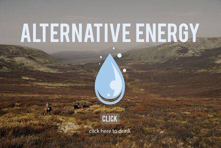 caballo bebe: Concepto H2o Energ�a Agua Limpia Alternativa