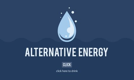 h2o: Clean Water Alternative Energy H2o Concept