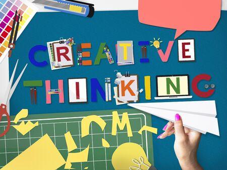 creative thinking: Creative Thinking Ideas Innovation Creativity Concept