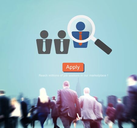 seeker: Application Occupation Profession Job Seeker Concept