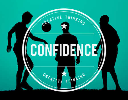 belief: Confidence Belief Reliability Conviction Concept Stock Photo