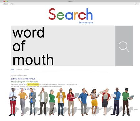 influence: Word of Mouth Communication Influence Message Concept