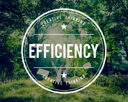 coherence: Efficiency Excellent Improvement Mission Order Concept Stock Photo