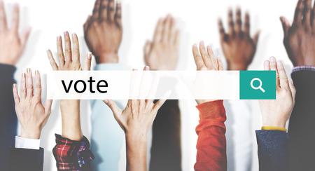 balloting: Vote Campaign Democracy Volunteer Concept