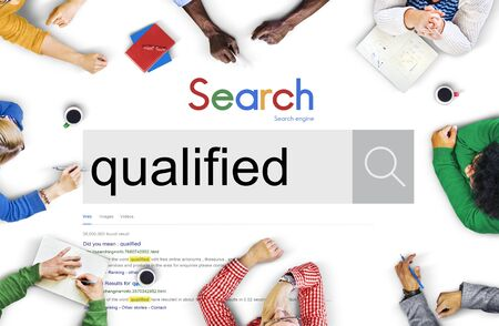 suited up: Qualified Qualify Qualification Diploma Capacity Concept