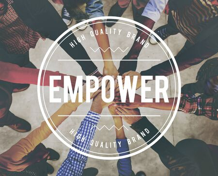 enabling: Empower Empowering Empowerment Improvement Concept