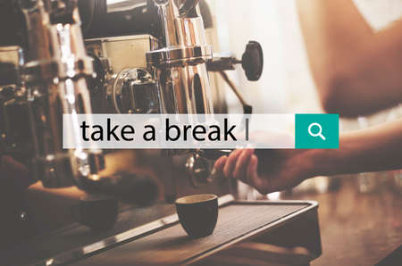 holiday maker: Take A Break Time Relaxation Lifestyle Concept Stock Photo