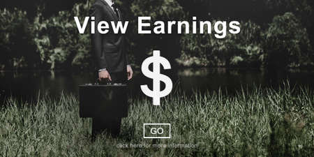attache case: View Earnings Accounting Financial Money Concept