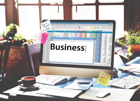 Business Startup Company Organization Development Concept Banco de Imagens