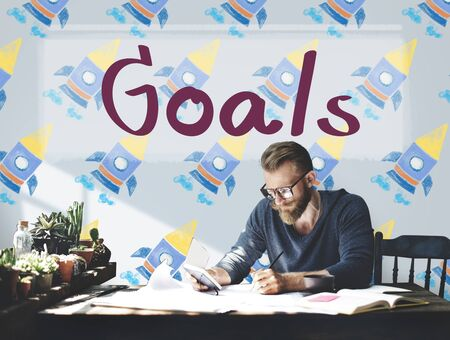 goal oriented: Goals Aim Aspiration Dreams Inspiration Target Concept