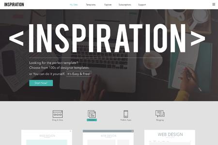 La inspiración inspirar inspirador impulsar innovar Concept
