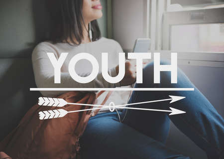 boyhood: Youth Culture Teenagers Young Generation Concept