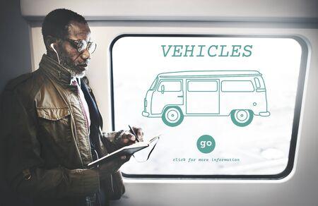 recess: Vehicles Traveling Adventure Journey Destination Van Concept